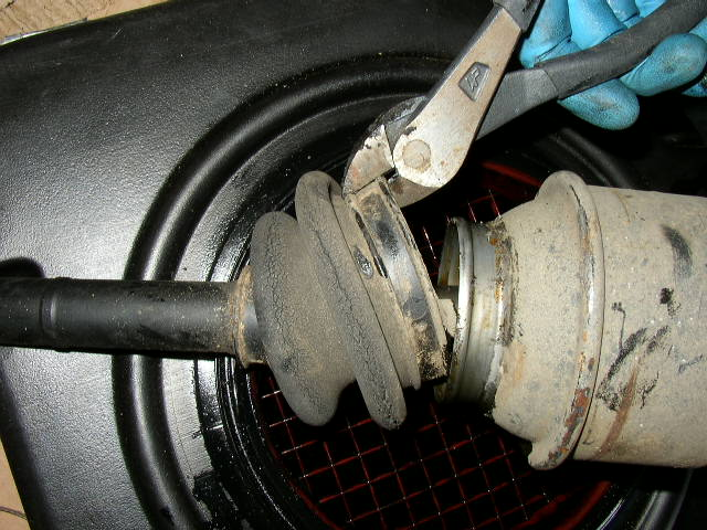 Mercedes Axle Shaft Boot Replacement